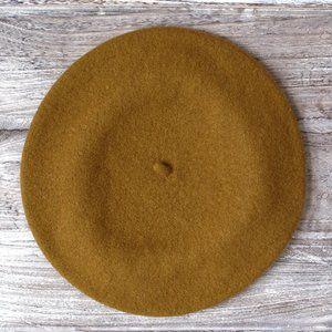 100% wool beret - made in Czech Republic
